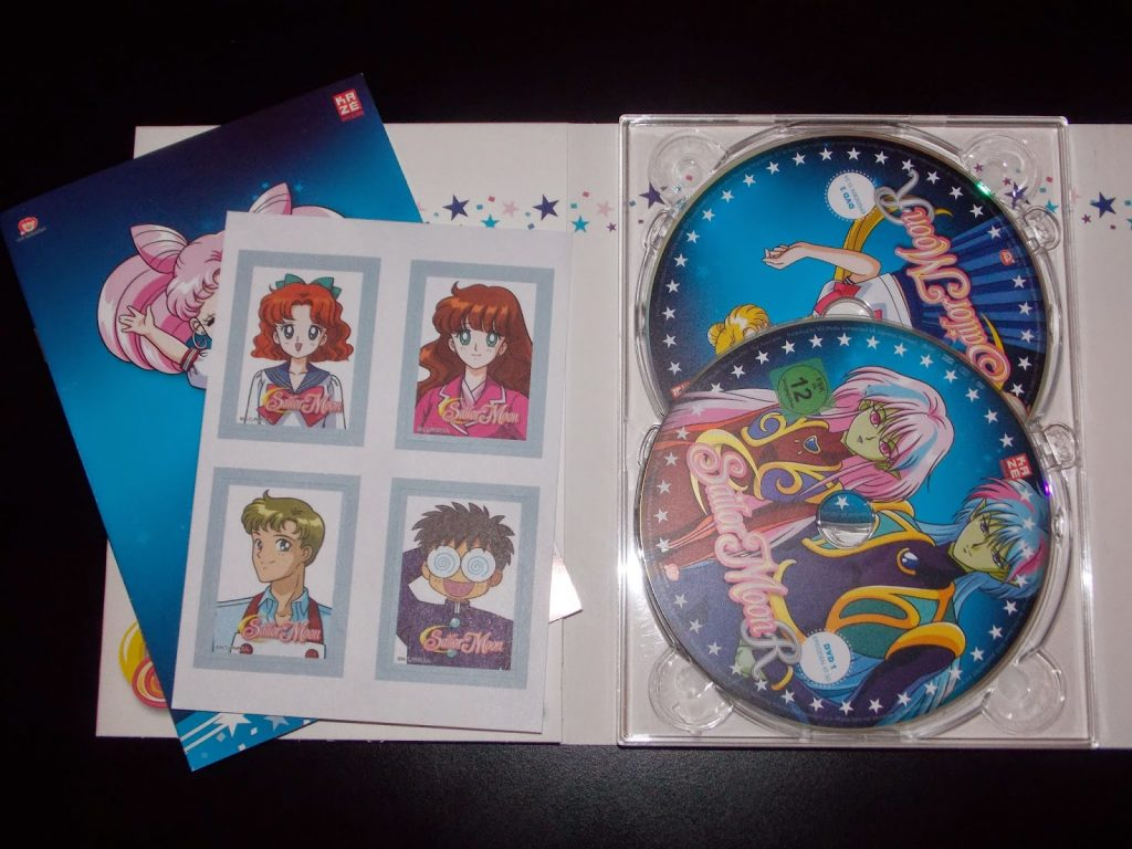 review sailor moon dvd box 3 sailormoongerman. Black Bedroom Furniture Sets. Home Design Ideas